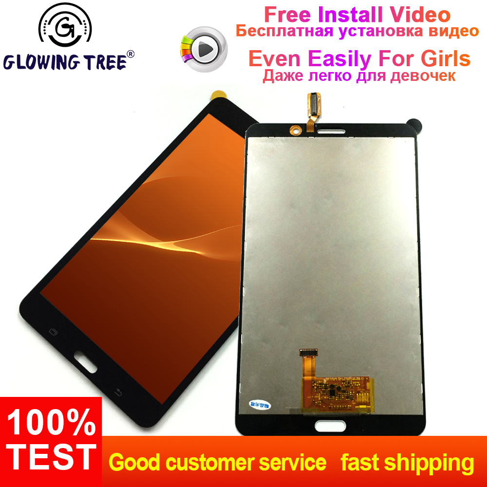 Per Samsung Galaxy Tab 4 7.0 T231 T235 SM-T231 SM-T235 Touch Screen Digitizer Sensor + LCD Display Panel Monitor di MontaggioPer Samsung Galaxy Tab 4 7.0 T231 T235 SM-T231 SM-T235 Touch Screen Digitizer Sensor + LCD Display Panel Monitor di Montaggio