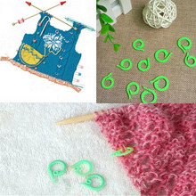 20 PC Plastic Knitting Crochet Locking Stitch Markers Crochet Latch Knitting Tools