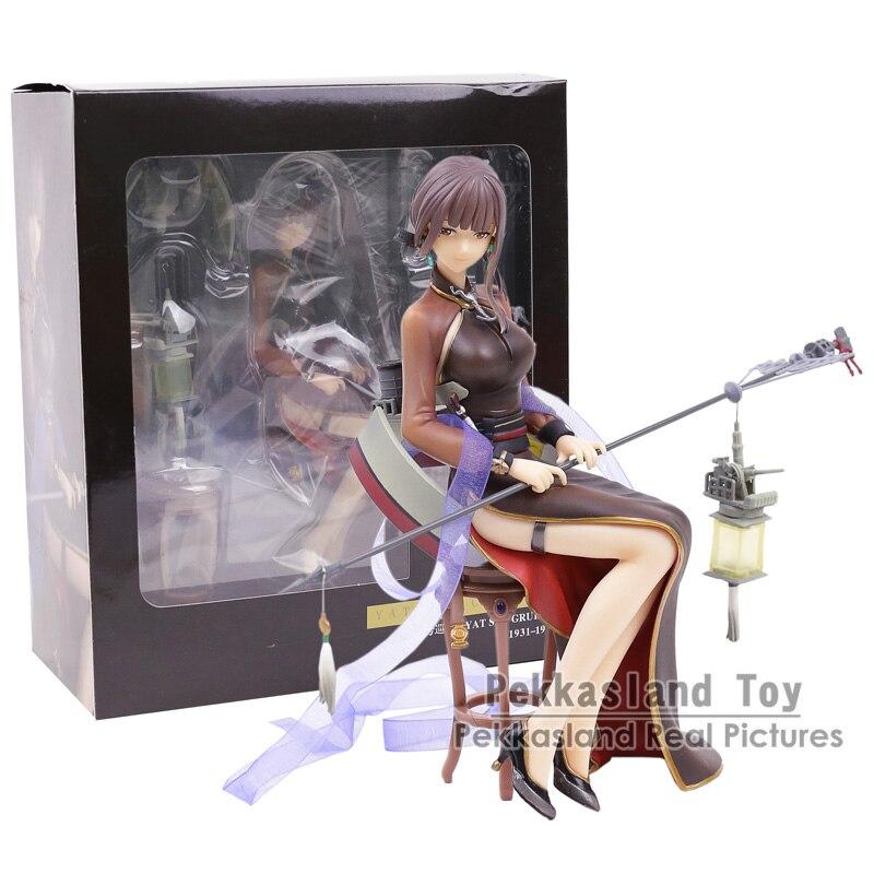 Warship Girls R Light Cruiser Yat Sen PVC Figure Collectible Model Toy 18CM