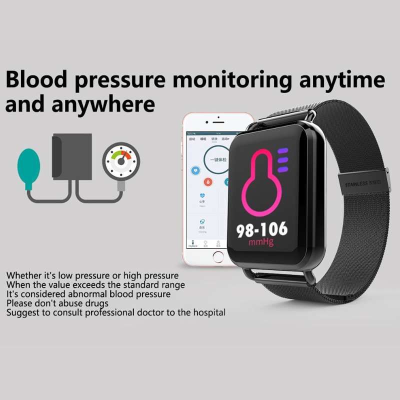 Watches N58 Ecg Ppg Smart Watch With Electrocardiograph Ecg Display Heart Rate Monitor Blood Pressure Mesh Steel Smartwatch With The Most Up-To-Date Equipment And Techniques