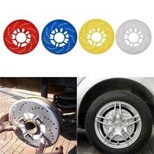 Алюминиевый сплав автомобильные колеса дисковые тормоза крышка для модификации автомобиля тормоза лист Авто колеса пластины задние барабанные тормоза горячая распродажа