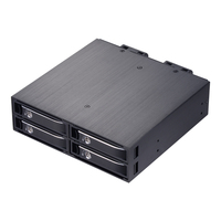 Uneatop ST2540B 4 Bay 2 5 Aluminum Case SATA HDD Internal Enclosure