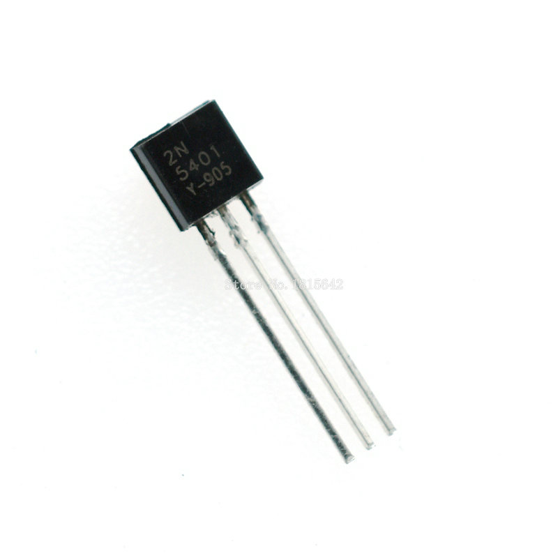 100PCS/Lot 2N5401 5401 Triode TO-92 0.3A 150V PNP Original New Wholesale Electronic