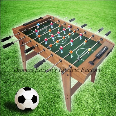 90*50.5*69cm Standard Football Soccer Table Game Football Game Set For Adult And Kid image