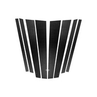 Hot 1 Set Car Window B pillars Stickers Molding Trim Styling Accessories for BMW E70 E90 F10 BX