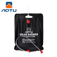 High Quality 40L 10 Outdoor Shower Water Bag Portable Shower Bag Camping Hiking Solar Heated Shower Bag Wonderful Travel Kits