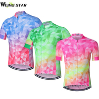 2017 Cycling Jersey SportsWear Mens Cycling Jersey Cycling Clothing Bike Shirt Size S TO 3XL Purple