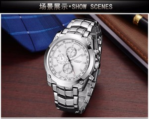 Image 4 - CURREN Luxury Male Clock Business Mens Quartz Wrist Watch Military Waterproof Watch Sport Relogio Masculino reloj hombre