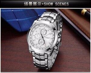 Image 4 - CURREN luksusowy zegarek męski biznes męski zegarek kwarcowy wojskowy wodoodporny zegarek Sport Relogio Masculino reloj hombre