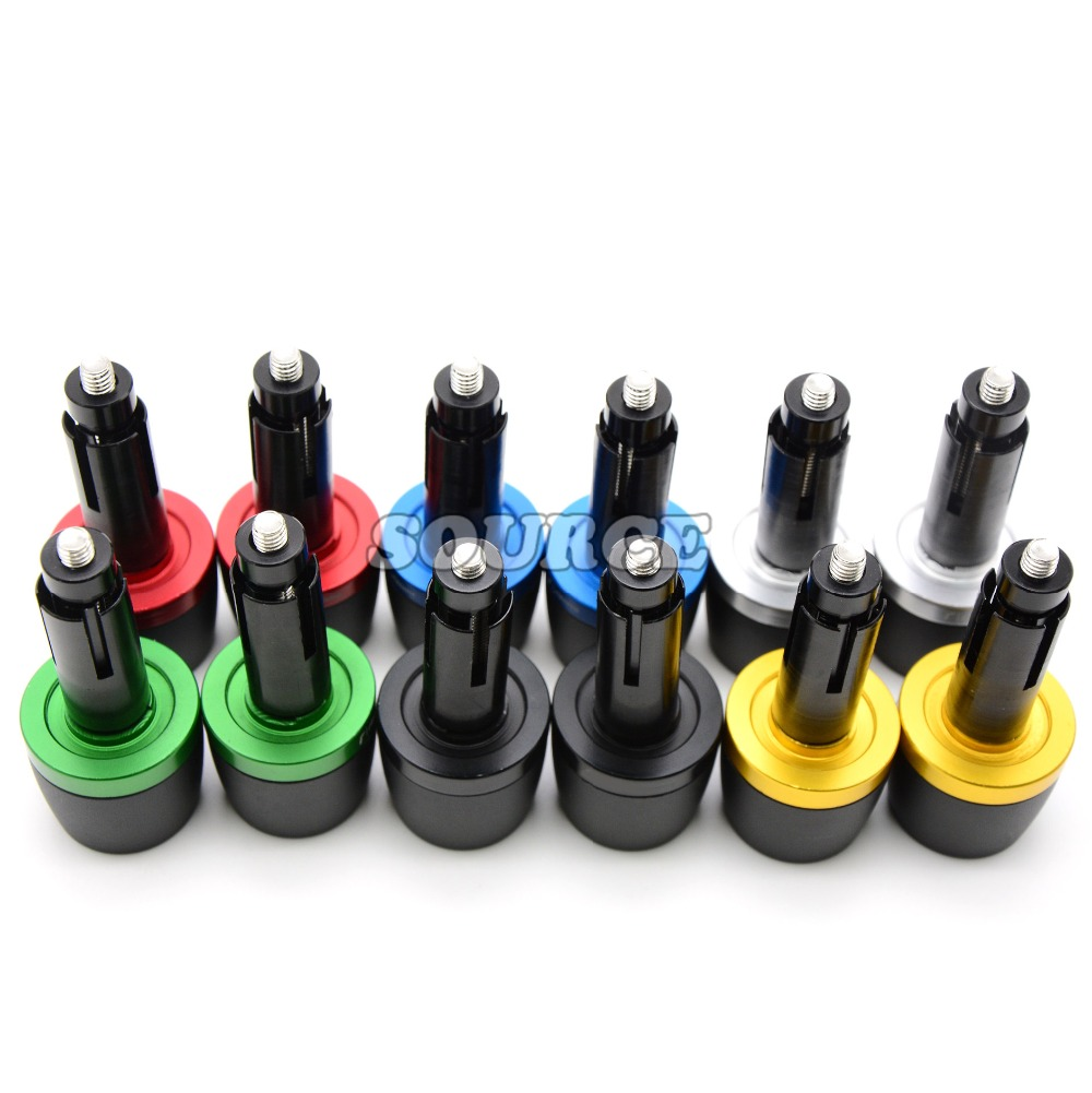 """Universal 7/8"""" 22 mm CNC motorcycle handlebar ends hand bar Grip ends FOR KTM RC 125 105 XC SX 1190 Adventure R RC8 R TRACK"""