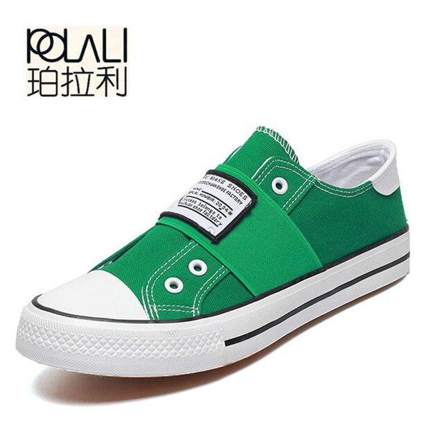 POLALI/Для мужчин; Вулканизированная обувь летние противоударный Повседневное брендовая полотняная обувь мужские спорт суперзвезда Для мужчин Туфли без каблуков Ультрас повышает красовки