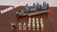 565pcs 10374 NEW Star Wars Battle Droid Troop Carrier Building Blocks Toys Gifts Figureset Boys 75086