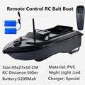 Новая версия обновления 180 минут 500 м RC Distacne Авто RC пульт дистанционного управления лодка для доставки прикорма и оснастки Speedboat рыболокатор ...