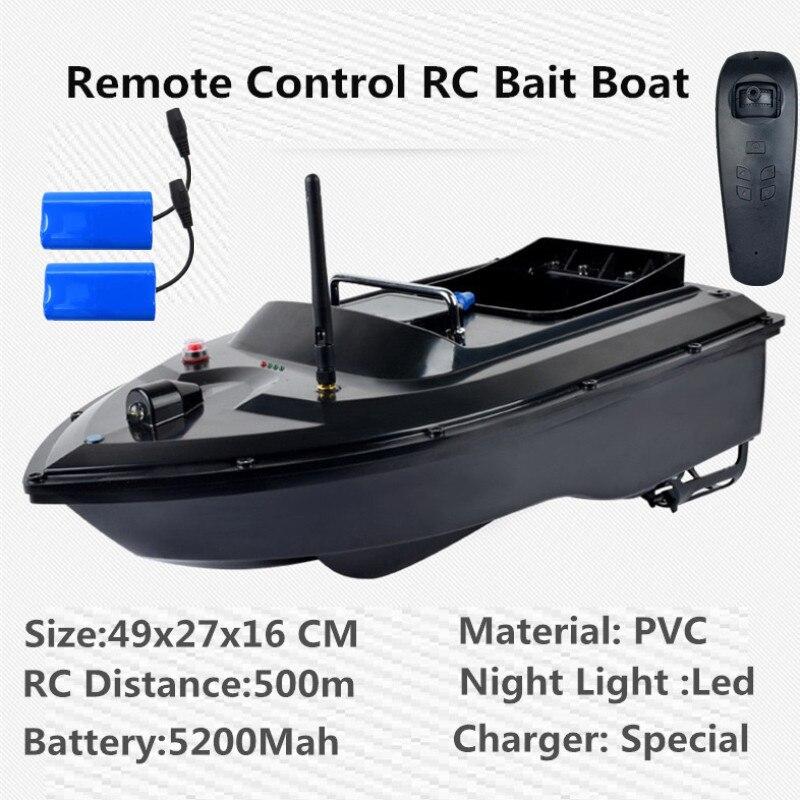Nova Versão de Atualização 180 Mins 500 m RC Distacne Auto RC Navio Barco Lancha Barco de Controle Remoto Isca De Pesca Fish Finder barco VS 2011-5