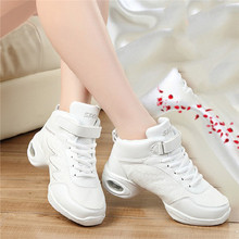 New Breathable Dance Shoes Women Teachers Latin Salsa Jazz Modern Fitness Dancing Sneakers Ladies Aerobics Shoes