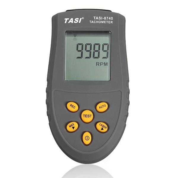 TASI-8740 Non-contact LCD Digital Laser Tachometer RPM Speed Gauge