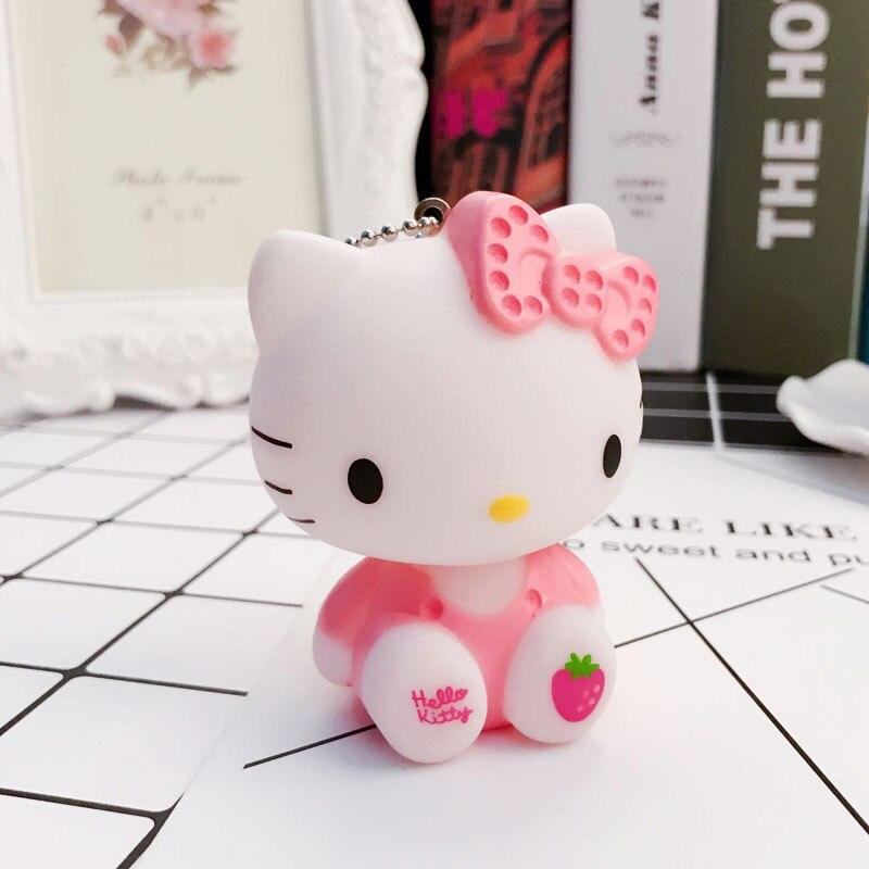 Pink Hello Kitty Car KeyChain