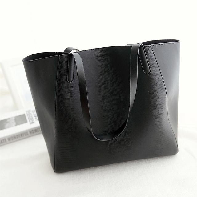 2017 New Women Tote Bags Designers Handbags Pu Leather Black Silver Grey Las Hand Luxury