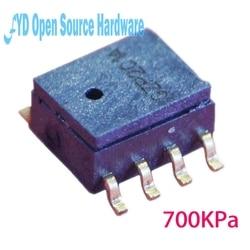 1 pces xgzp8 700kpa piezoresistive sensor de pressão