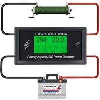 Car Battery Testers Digital DC Voltmeter Ammeter Voltage Meter Capacity Volt Current Wattmeter Detector Power Supply