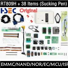 מקורי RT809H EMMC Nand פלאש מתכנת אוניברסלי מתכנת TSOP56 TSOP48 SOP44 מתאם VGA HDMI BGA63 BGA64 BGA153 BGA169