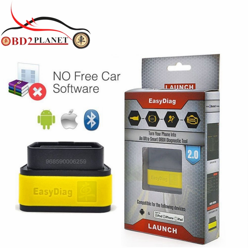 Original Launch X431 EasyDiag 2 0 With OBD2 16PIN For Android IOS 2 In 1 Diagnostic
