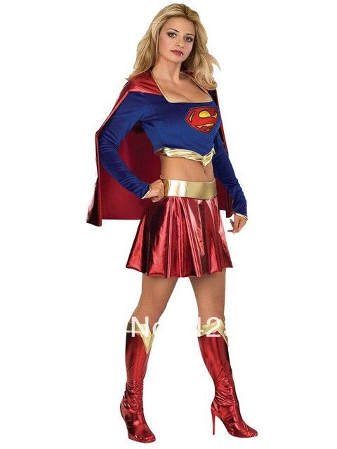 Dc Comics Superman Modelli Femminili Supergirl Shiny Metallic