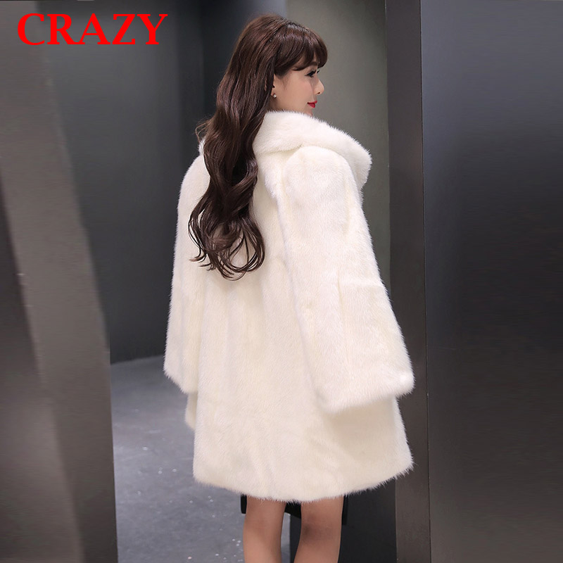 Popular White Faux Fur Coats for Women-Buy Cheap White Faux Fur ...