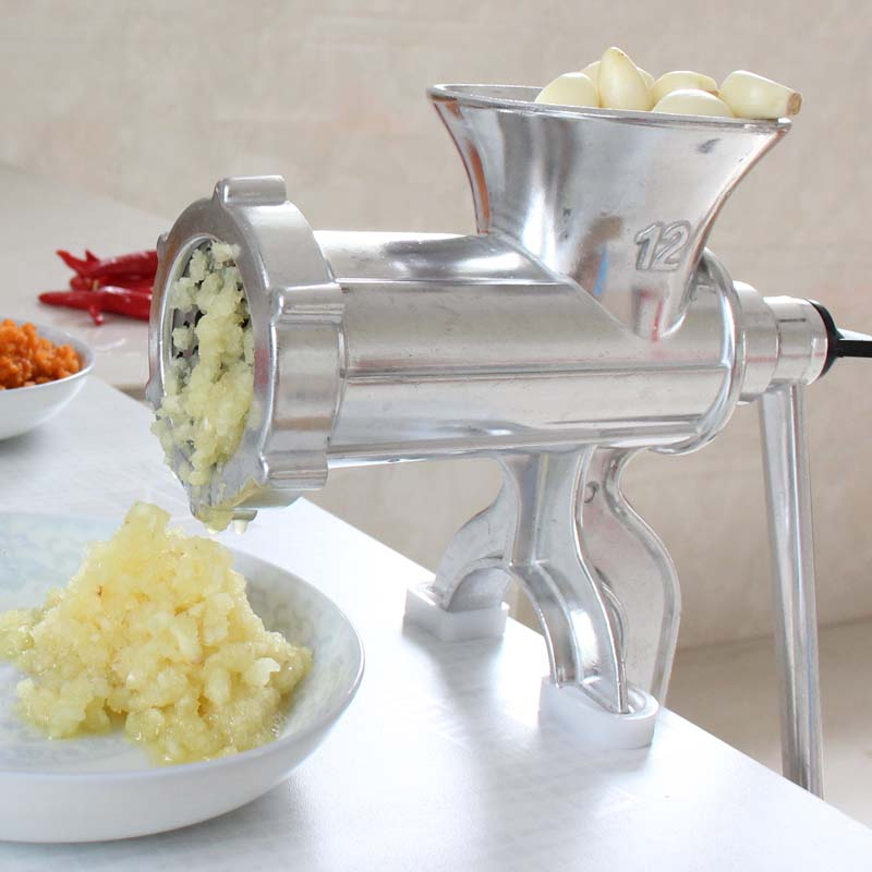 Manual Meat Grinder Sausage Maker Stainless Steel Sausage Stuffer Pasta Maker Meat Vegetable Grinder Mincer For Home