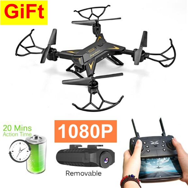 Toys & Hobbies Camera Drones Responsible Eachine Drone X Pro Foldable 2.4ghz Quadcopter Wifi 1080p Camera 4 Pcs Batteries