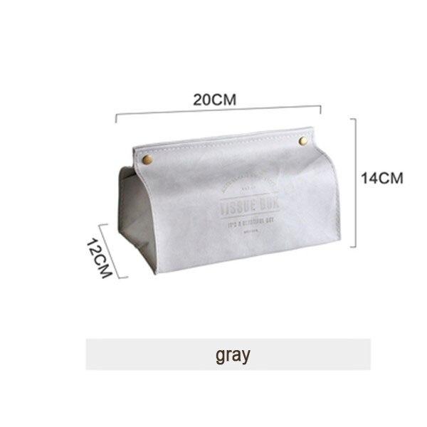 Креативная коробка для салфеток из искусственной кожи, мягкая складная подставка для салфеток, чехол для салфеток с буквенным принтом, держатель для бумаги для дома, кухни, коробка для хранения - Цвет: Style 3