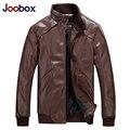 JOOBOX мужская Мода кожаная куртка, тонкий мужские кожаные куртки и пальто, ПУ пилот кожаная куртка, а также размер, biker jacket (PY021)