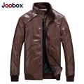 JOOBOX Fashion mens leather jacket, thin mens leather jackets and coats,PU pilot leather jacket,plus size,biker jacket  (PY021)