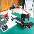 380V Настольный ленточный шлифовальный полировальный станок производитель Многофункциональный Электрический двухстанционный ленточный шл...