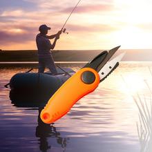 Wędkarski praktyczne nożyczki Akcesoria do linii rybackich Clipper cięcie wędkarskie Fold nożycowe krewetki tanie tanio F0189-01_ Mix equipment 4 5 mln Innych Fishing Rod For International Fishing Method Stal nierdzewna Fishing Line Cutter