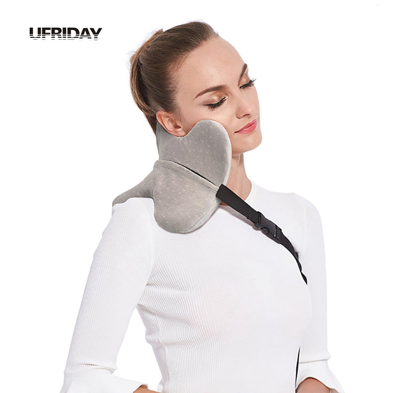 Ufriday U Shape Travel Pillow For Airplane Multi Function