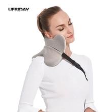 UFRIDAY U Shape Travel Pillow For Airplane Multi-function Car Pillow Neck Comfortable Memory Foam Sleeping Pillows Head Cushion