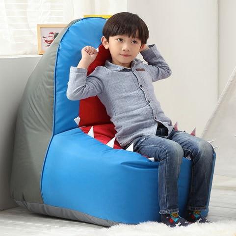 Hot Sale Baby Shark Cartoon Bean Bag Sofa Kids Chair Sofa Childrenu0027s Chair  Bedroom Seat Sofa
