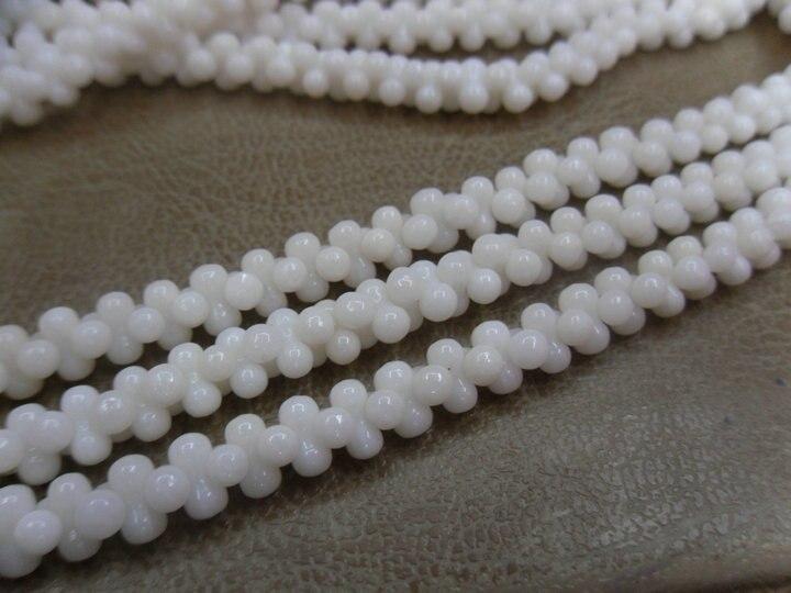 4x8 мм белый цвет коралловый арахисовый бисер полудрагоценный камень свободные бусины 10 нитей в партии