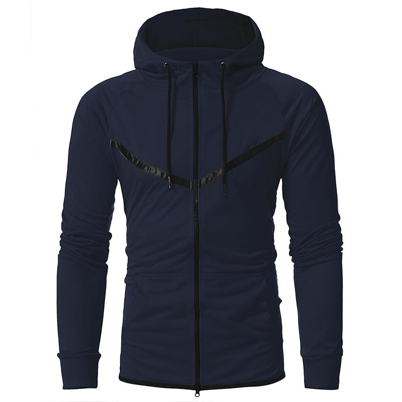 Brand 2017 Hoodie Cardigan Casual Zipper Hoodies Men Fashion Tracksuit Male Sweatshirt Hoody Mens Purpose Tour