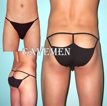Charming mezza anca maschio slip * 1599 * uomini sexy lingerie t-back thong g-string t pantaloni breve underwear spedizione gratuita