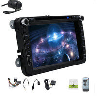 Two Din Android 7 Inch Drive Car DVD For VW Volkswagen POLO PASSA Golf Skoda Octavia