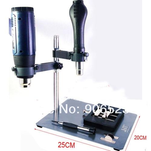 US $57 59 |NT F204 Mobile Phone Repair Platform/ hot air gun repair  platform/BGA rework station,solder tool-in Weld Holders from Tools on