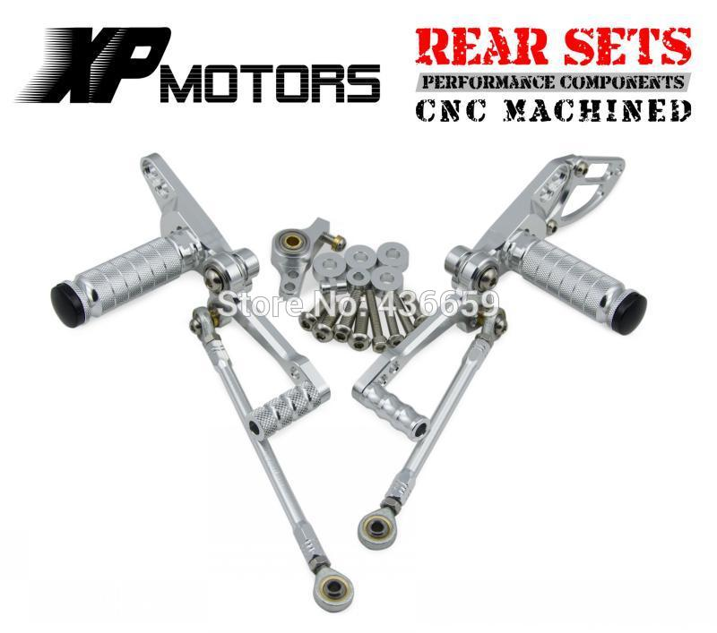 Motorcycle CNC Racing Foot Pegs Pedals Adjustable For