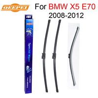 QEEPEI Front And Rear Wiper Blade No Arm For BMW X5 E70 2008 2012 High Quality