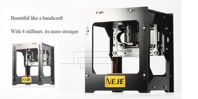 NEJE 1000mW cnc crouter cnc laser cutter mini cnc engraving machine DIY Print laser engraver High Speed with Protective Glasses 1000mw high speed mini laser cutter usb laser engraver cnc router automatic diy engraving machine off line operation glasses