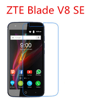 5 Pcs Ultra Thin Clear HD LCD Screen Guard Protector Film With Cleaning Cloth Film For ZTE Blade V8 SE.