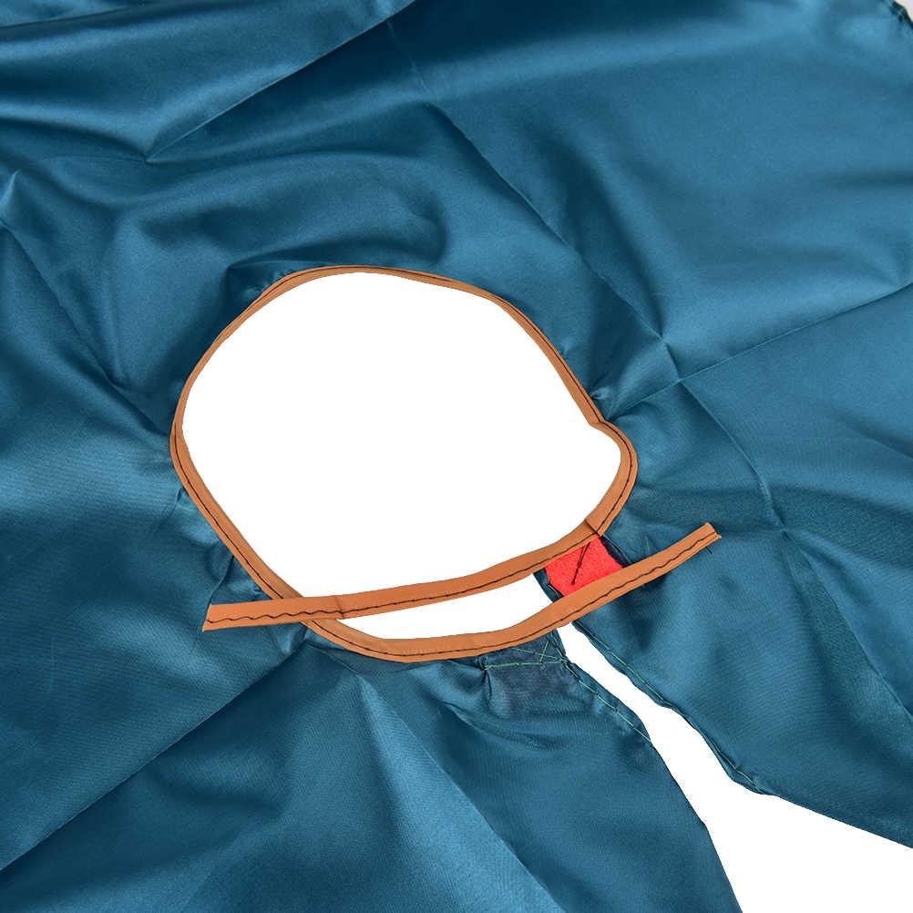 Chapéu de cabeleireiro dobrável, 1 peça, corte de cabelo, avental para salão de beleza e barbeiro, panos para adultos e crianças