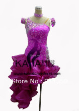 New Arrival, KAKA-L130353, Latin dance wear,tango salsa samba rumba chacha waltz dance suit,girl child latin dance dress
