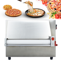 Commercial Transparent Safety Cover Pizza Dough Machine Pizza Press Machine Pizza Making Machine Pizza forming machine